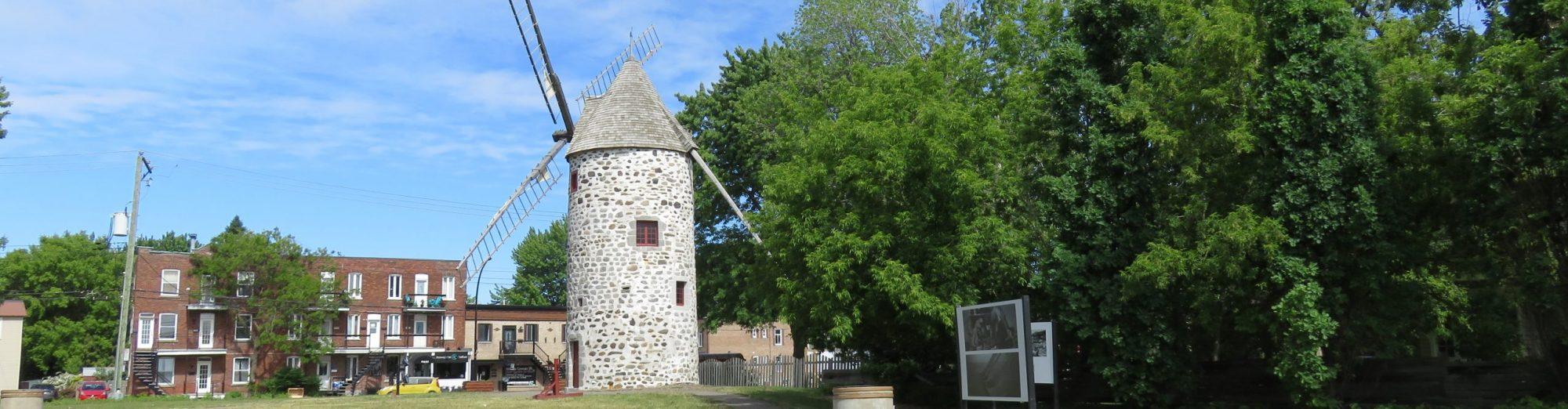 Les moulins à vent du Québec